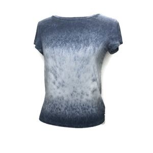 American Eagle soft and sexy blue dip dye shirt s
